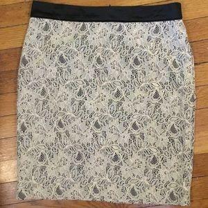 Lace dressy skirt